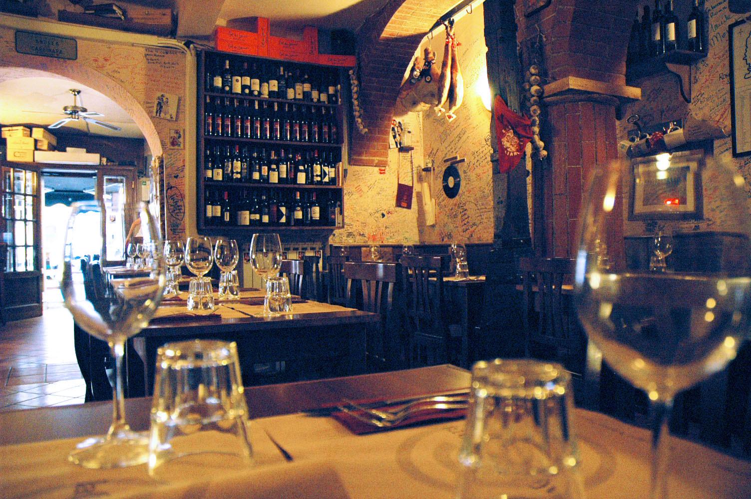 Osteria Ristorante Con Cucina A Roma La Carbonara